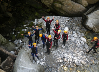 Familienhotel Zillertal mit Canyoning Angebot